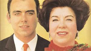 Lucilia e Carlos Do Carmo.
