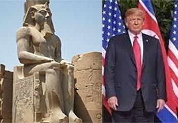 Egizi e Trump.